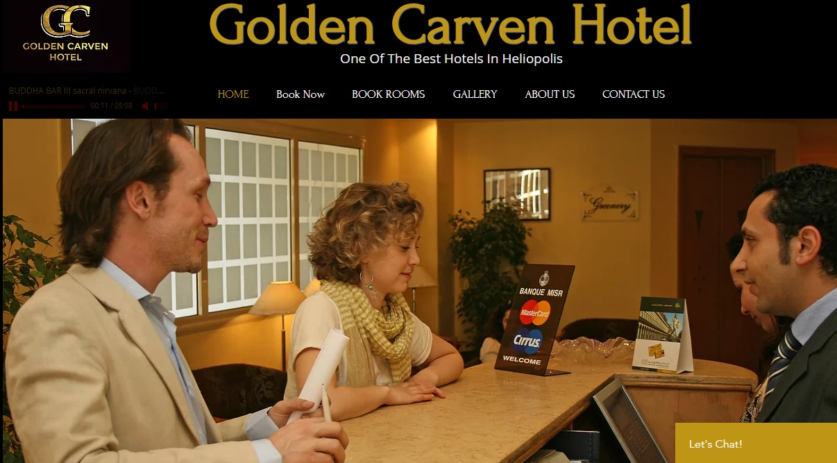 Golden carven hotel